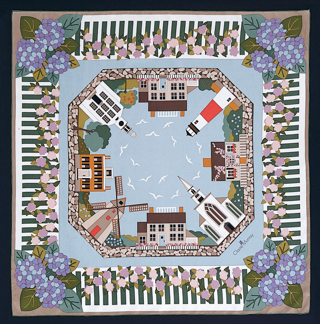 Nantucket Village Scarf