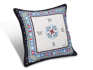 "Compass Rose 20"" Pillows PRC20"