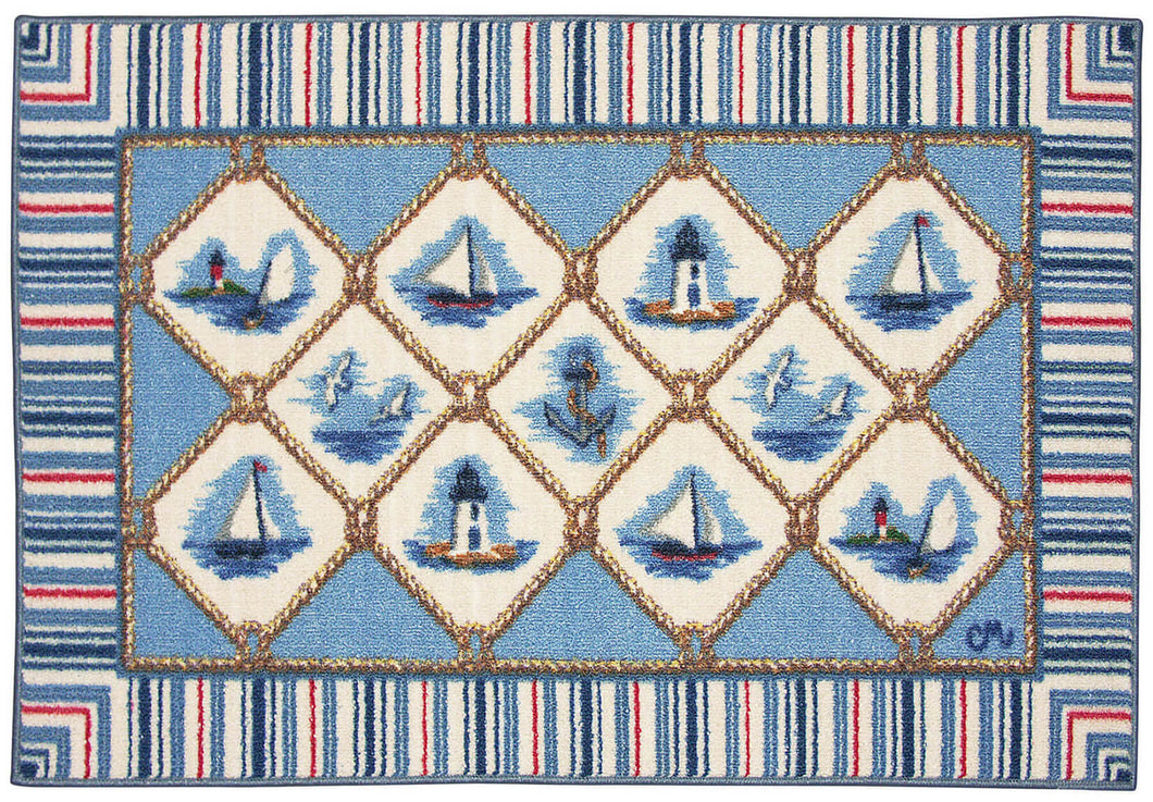 Nautical Washable 1115