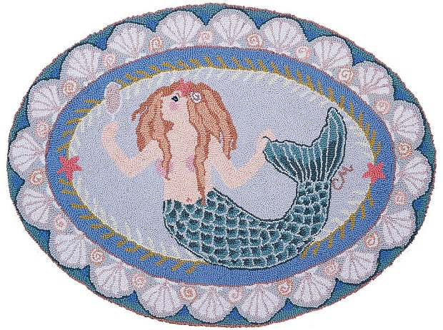 Mermaid Oval 3 x 5 R133