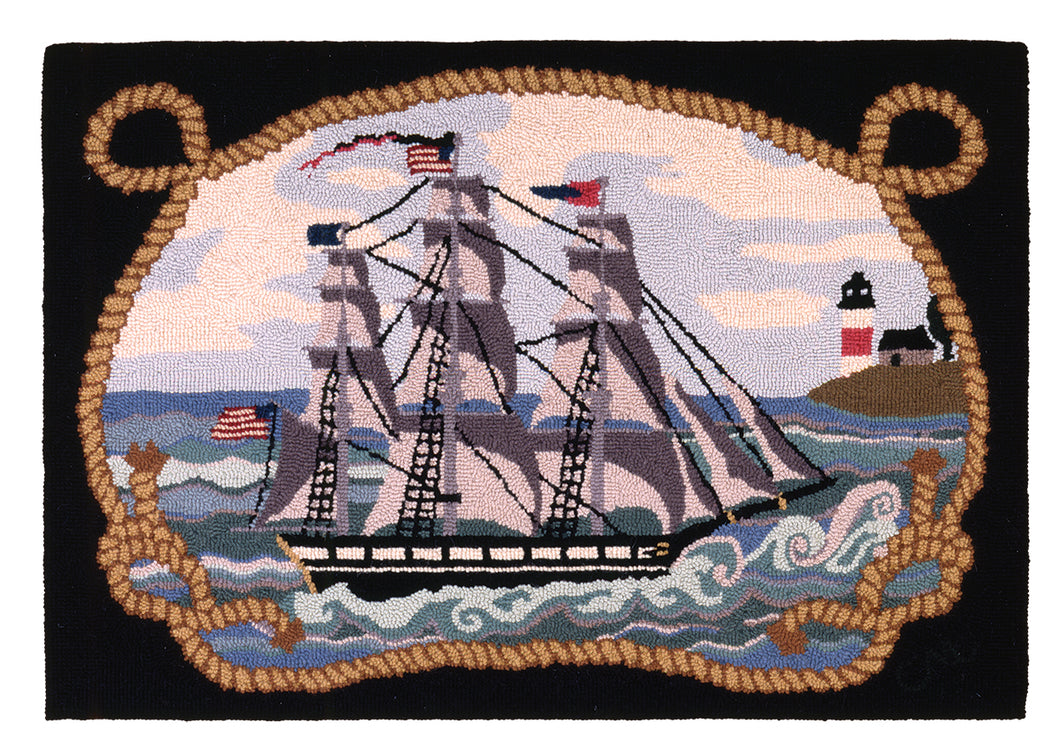 Sankaty Light Rug Hooking Kit K233