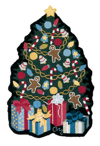 Silhouette Christmas Tree - R771