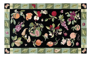 Botanical Fruit 3 x 5' R787