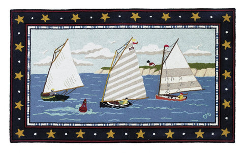 Cape Cod Cat Boat 3 x 5 R1006