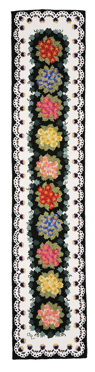 Primrose and Pansy 10' Runner R1078