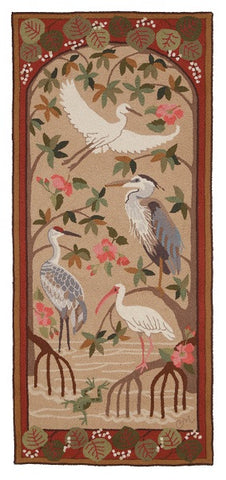 Birds of the Everglades 6' Runner R1248