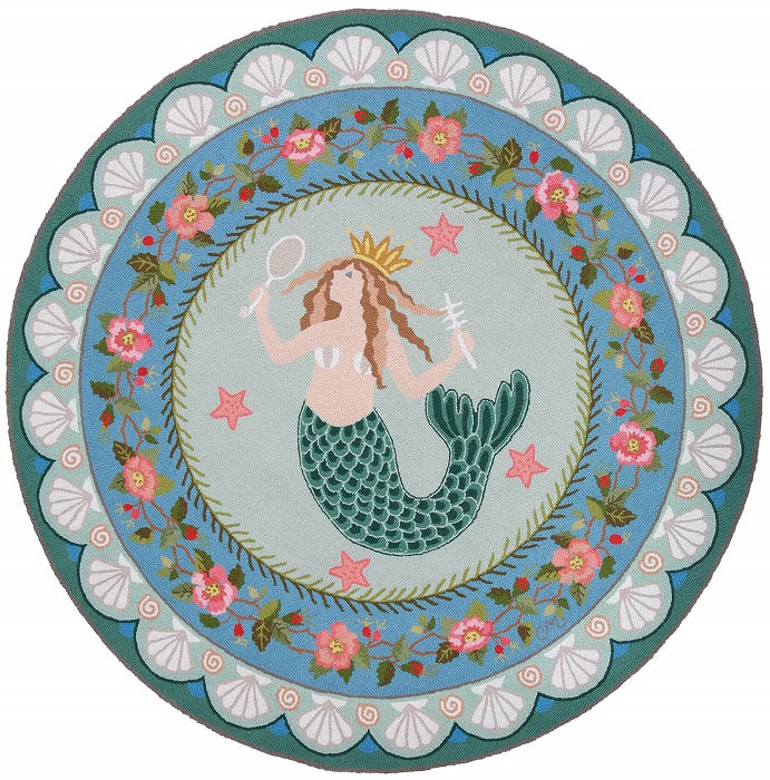 Mermaid Queen 6' Round R1271