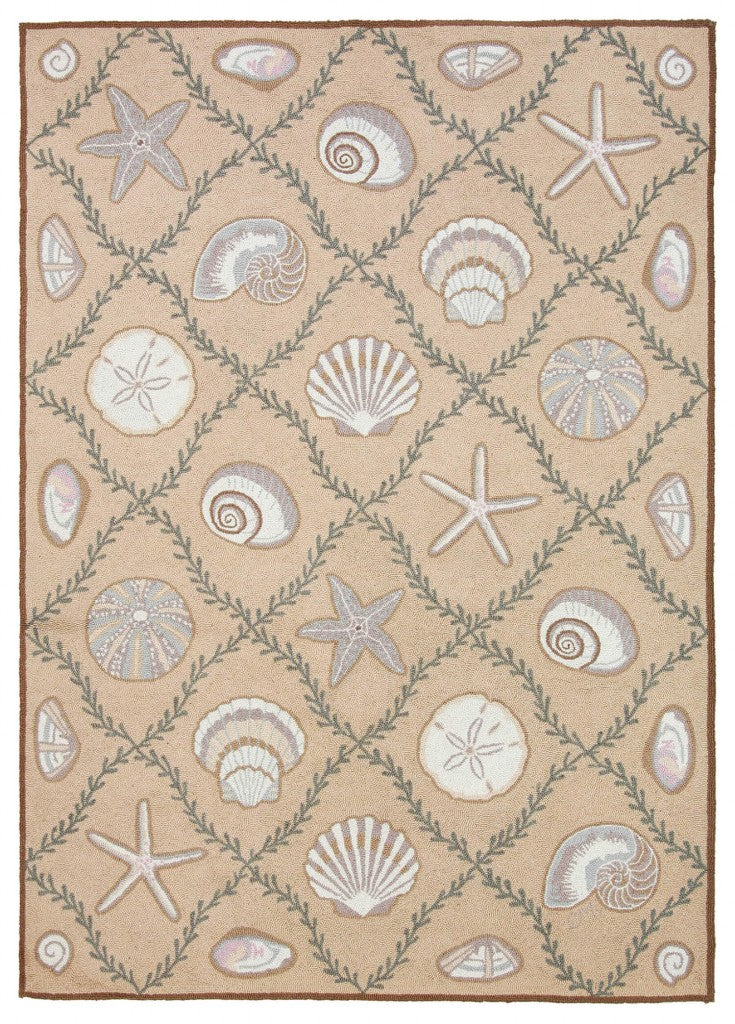 Cape Contemporary Shells Grid 5 x 7 R1276BG