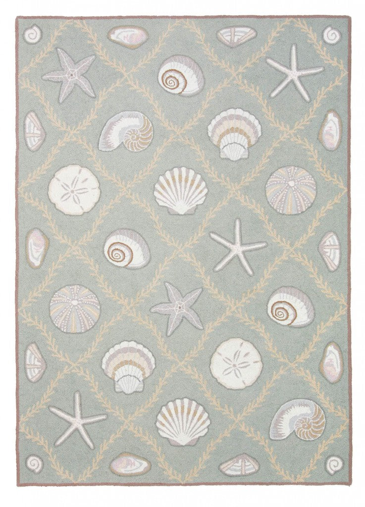 Cape Contemporary Shells Grid 5 x 7 R1276GR