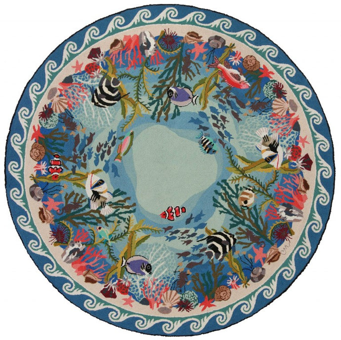 Coral Reef 6' Round R1277