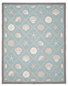 Cape Contemporary Shells w/grid 9 x 12 1313AQ