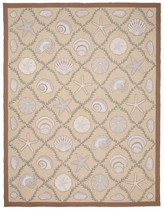 Cape Contemporary Shells w/grid 9 x 12 1313BG