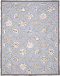 Cape Contemporary Shells w/grid 9 x 12 1313BL