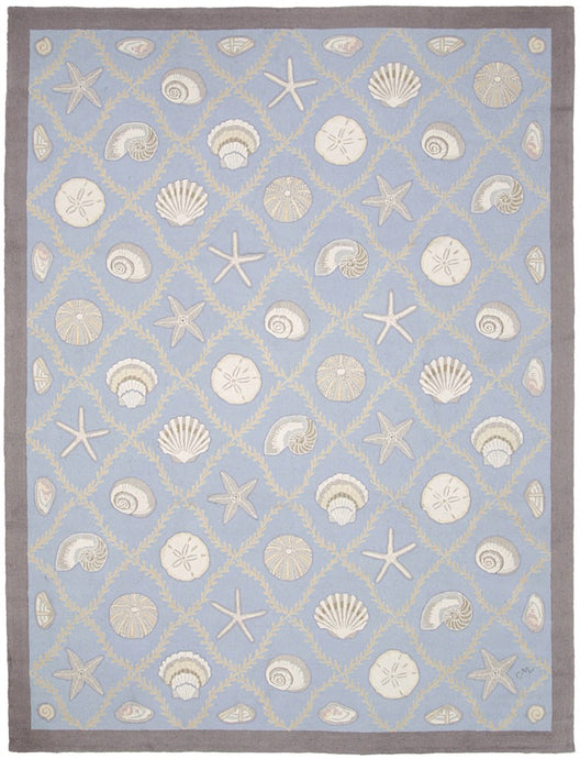 Cape Contemporary Shells w/grid 9 x 12 R1313BL