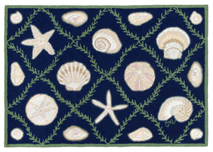 Cape Contemporary Shells Grid 3 x 5 R1324DKBL