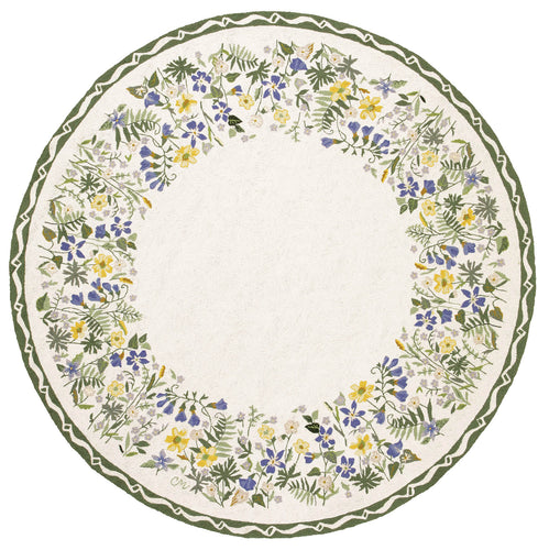Blue Meadow 7' Round R1356