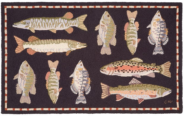 Fresh Water Fish 3 x 5 - R1511