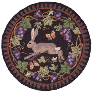 Wine Country Hare Round R1516-O