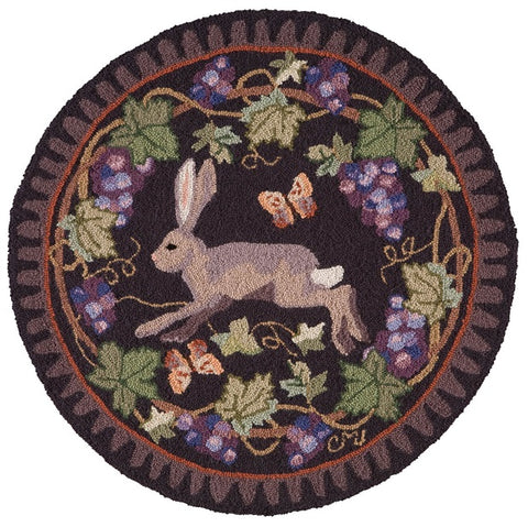 Wine Country Hare Round R1516DK