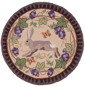 Wine Country Hare Round R1516LT-C