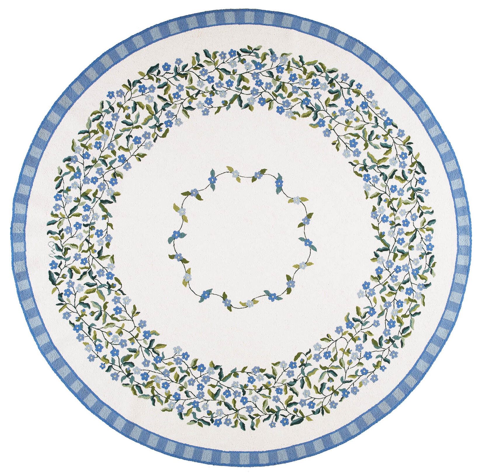 Forget Me Not 8' Round R1527