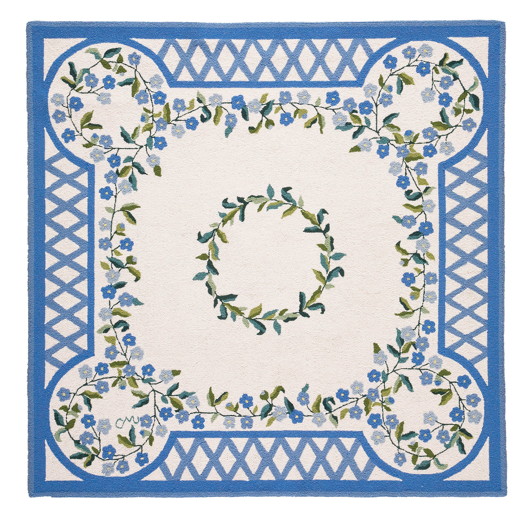 Forget Me Not 5' Square R1556
