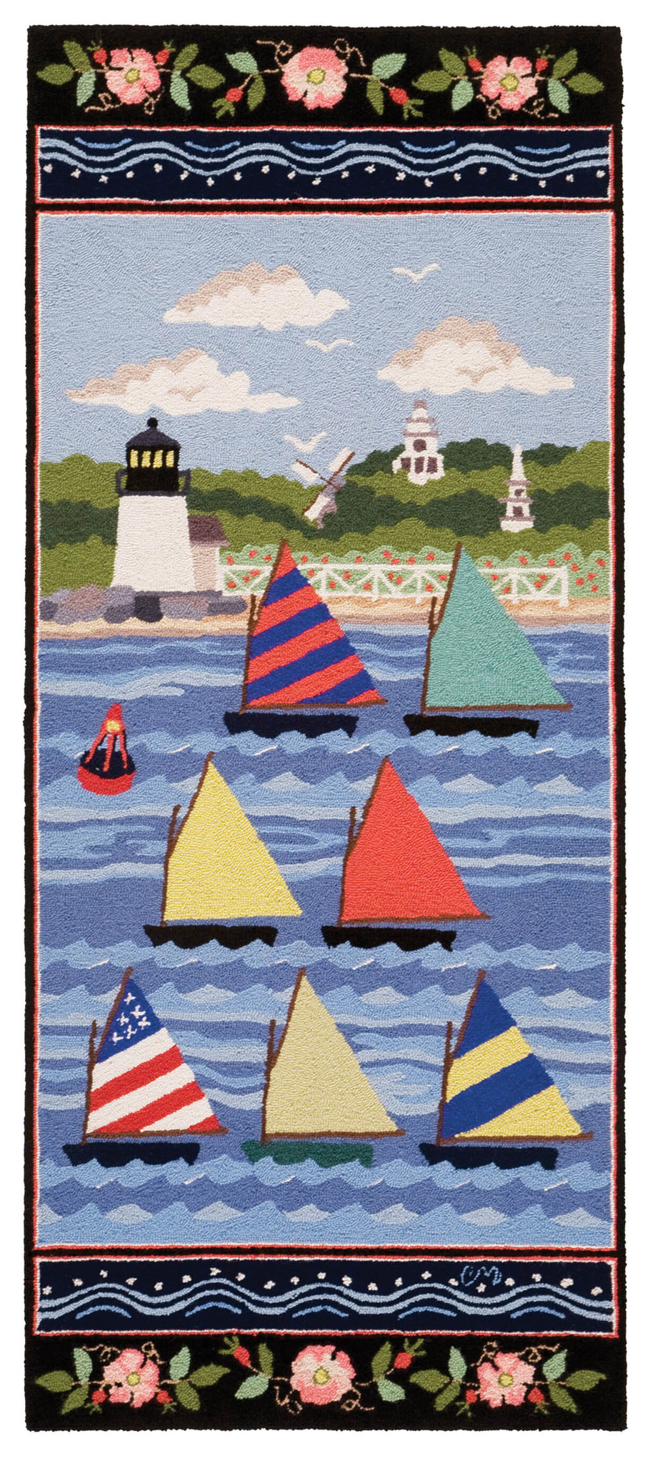 Nantucket Rainbow Fleet 6' Runner R1605
