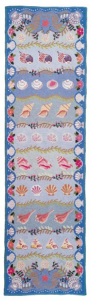 Seashells 10' Runner R662