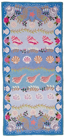 Seashells 6' Runner - R663