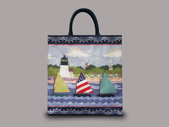 Rainbow Fleet Tote Bag