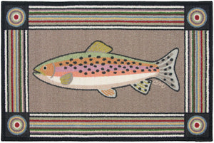 Rainbow Trout Washable 1129