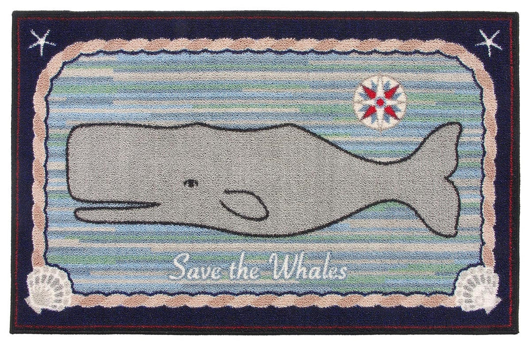 Save the Whales Washable 1135