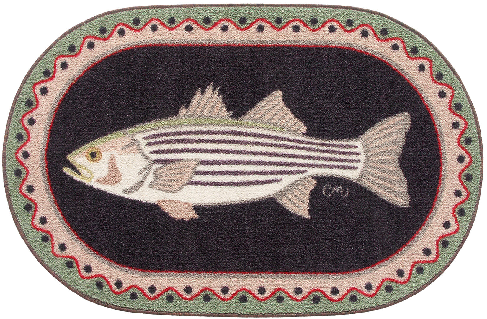 Striped Bass Washable 1136
