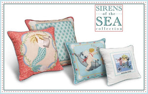 Sirens of the Sea Pillow Collection