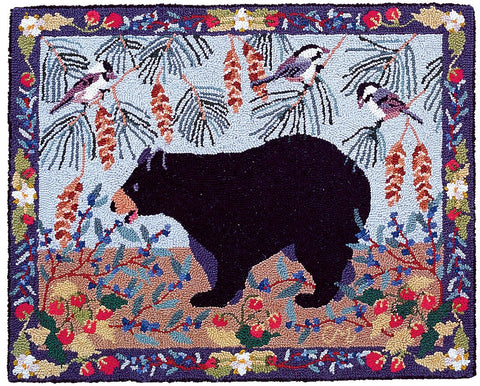 Bear Patch 2 x 3 -  R605-C