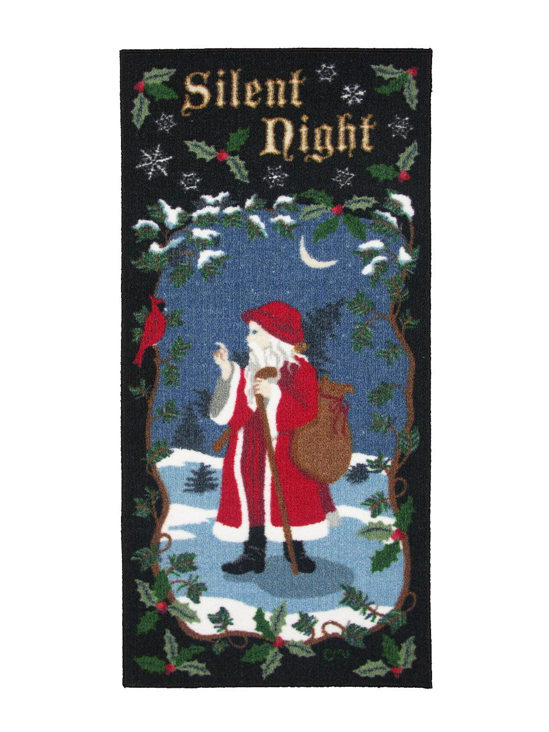 Silent Night Washable Runner 1125