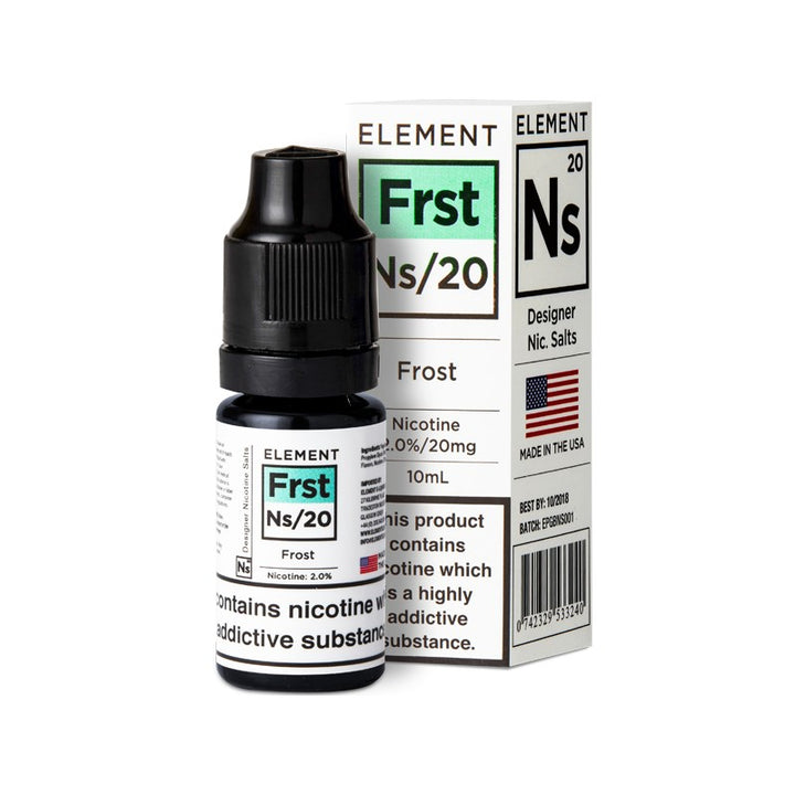 ELEMENT - 10ML NS20/10 FROST SALTS - Super E-cig Ltd