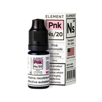 ELEMENT - 10ML NS20 PINK LEMONADE - Super E-cig