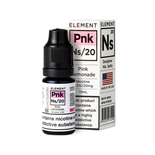 ELEMENT - 10ML NS20/10 PINK LEMONADE - Super E-cig