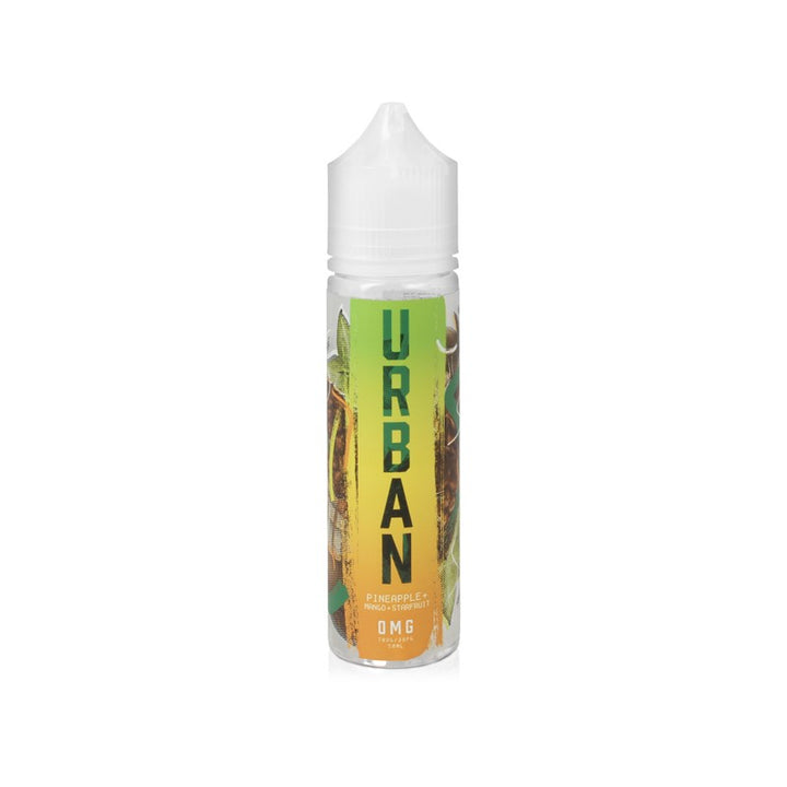 URBAN - 50ML PINEAPPLE, MANGO & STARFRUIT - Super E-cig Ltd