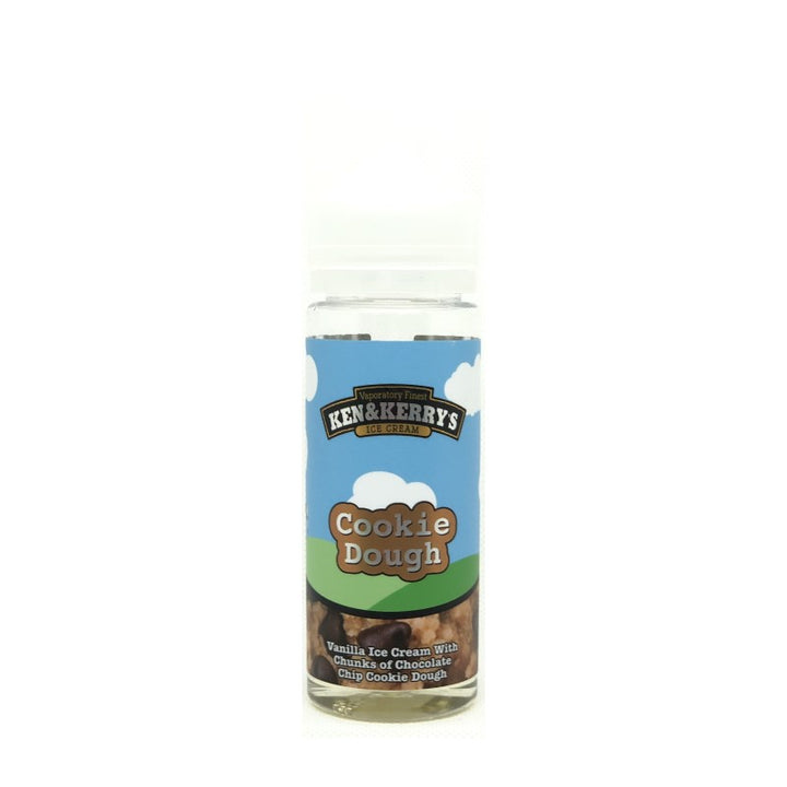 KEN & KERRY'S - 100ML COOKIE DOUGH E LIQUID - Super E-cig Ltd