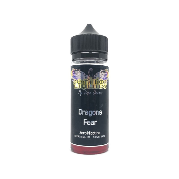 DOMINION LIQUIDS - 100ML DRAGONS FEAR E LIQUID - Super E-cig Ltd
