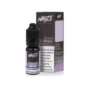 NASTY JUICE - 10ML STARGAZING SALTS E LIQUID - Super E-cig Ltd