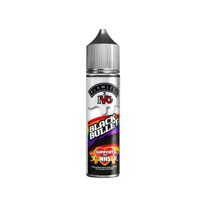 I VG - 50ML BLACK BULLET 0MG SHORTFILL E LIQUID - Super E-cig Ltd