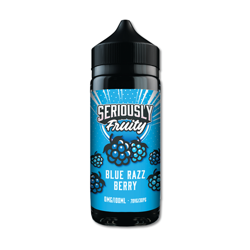 DOOZY VAPE CO - 100ML SERIOUSLY FRUITY BLUE RAZZ BERRY 0MG SHORTFILL E LQIUID - Super E-cig Ltd