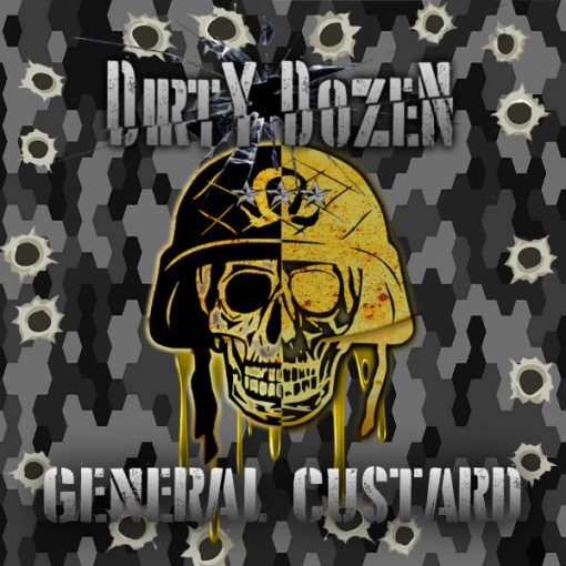 QCIG - 50ML DIRTY DOZEN  GENERAL CUSTARD 0MG SHORTFILL E LIQUID - Super E-cig Ltd