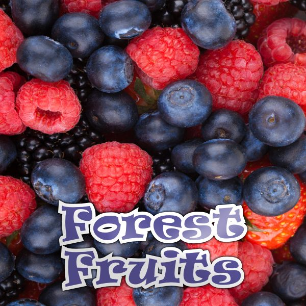 QCIG - 10ML FORREST FRUITS E LIQUID - Super E-cig Ltd