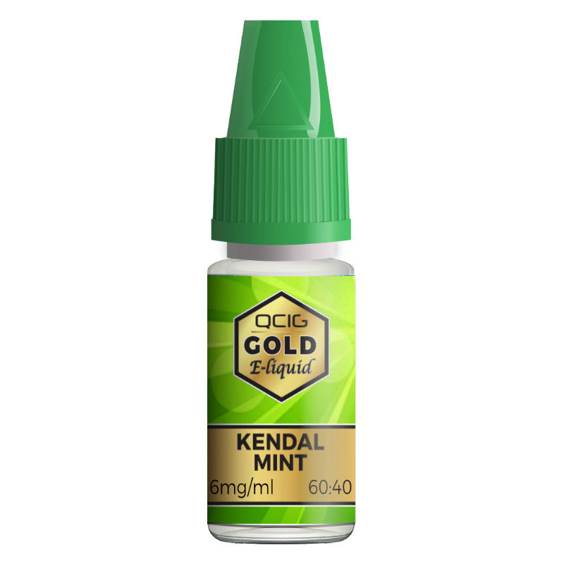 QCIG - 10ML KENDAL MINT E LIQUID - Super E-cig Ltd