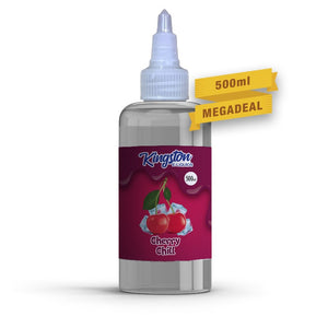 KINGSTON - 500ML CHERRY CHILL E LIQUID - Super E-cig Ltd