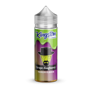 KINGSTON - 100ML GRAPE ZINBERRY - Super E-cig Ltd